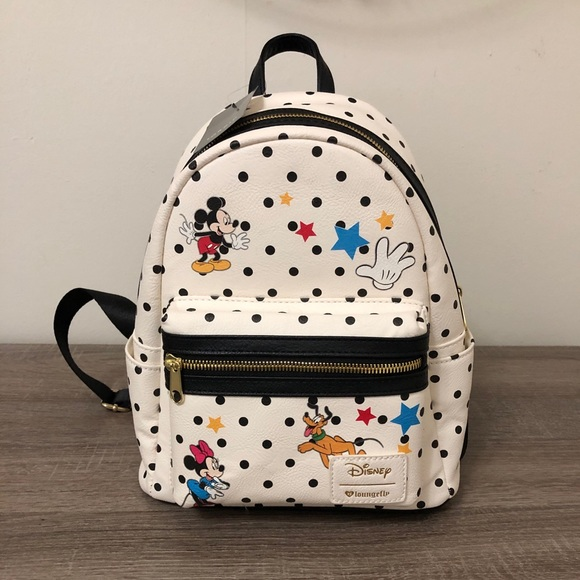 121ab19d20d Mickey and friends Loungefly mini Backpack